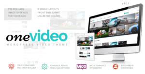 OneVideo WordPressTheme