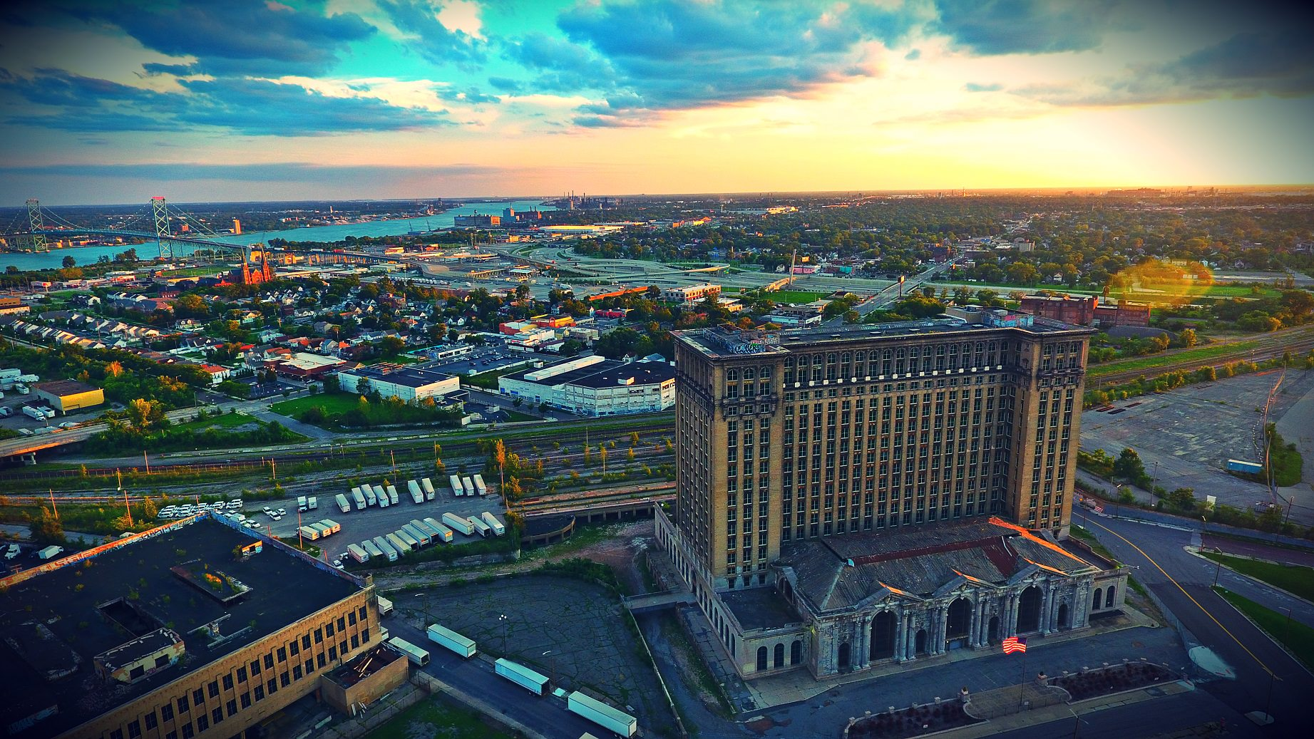 Michigan Train Station - Detroit